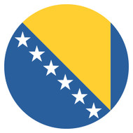 Emoji One Wall Icon Bosnia And Herzegovina Flag