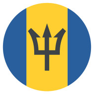 Emoji One Wall Icon Barbados Flag