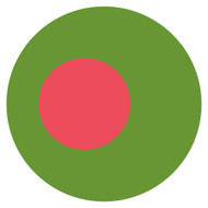 Emoji One Wall Icon Bangladesh Flag