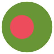 Emoji One Wall Icon Bangladesh Flag