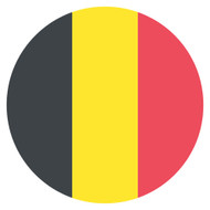 Emoji One Wall Icon Belgium Flag