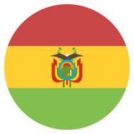 Emoji One Wall Icon Bolivia Flag