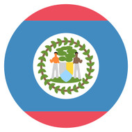 Emoji One Wall Icon Belize Flag