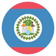 Emoji One Wall Icon Belize Flag
