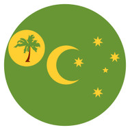 Emoji One Wall Icon Cocos (Keeling) Islands Flag