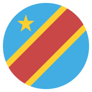 Emoji One Wall Icon The Democratic Republic Of The Congo Flag