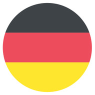 Emoji One Wall Icon Germany Flag