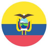 Emoji One Wall Icon Ecuador Flag