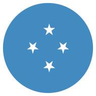 Emoji One Wall Icon Micronesia Flag