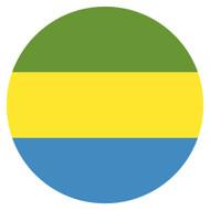 Emoji One Wall Icon Gabon Flag