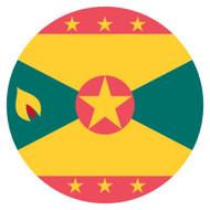 Emoji One Wall Icon Grenada Flag