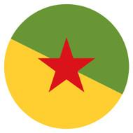 Emoji One Wall Icon French Guiana Flag