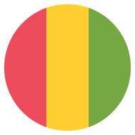 Emoji One Wall Icon Guinea Flag