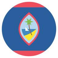 Emoji One Wall Icon Guam Flag