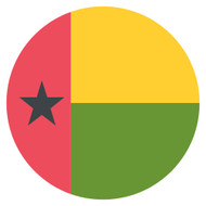 Emoji One Wall Icon Guinea-Bissau Flag