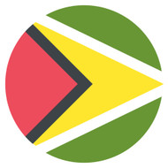 Emoji One Wall Icon Guyana Flag