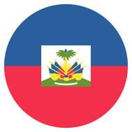 Emoji One Wall Icon Haiti Flag