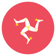 Emoji One Wall Icon Isle Of Man Flag