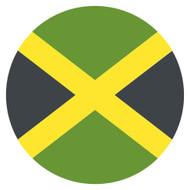Emoji One Wall Icon Jamaica Flag