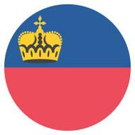 Emoji One Wall Icon Liechtenstein Flag