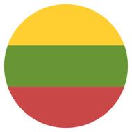 Emoji One Wall Icon Lithuania Flag