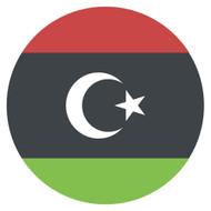 Emoji One Wall Icon Libya Flag