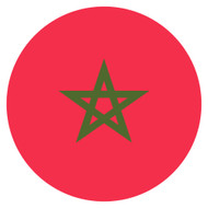 Emoji One Wall Icon Morocco Flag