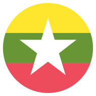 Emoji One Wall Icon Myanmar Flag
