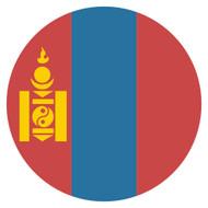 Emoji One Wall Icon Mongolia Flag