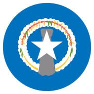 Emoji One Wall Icon Northern Mariana Islands Flag