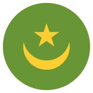 Emoji One Wall Icon Mauritania Flag