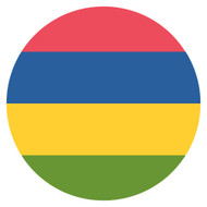 Emoji One Wall Icon Mauritius Flag