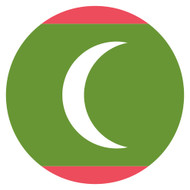Emoji One Wall Icon Maldives Flag