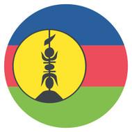 Emoji One Wall Icon New Caledonia Flag