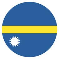 Emoji One Wall Icon Nauru Flag