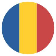 Emoji One Wall Icon Romania Flag