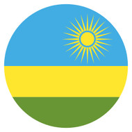 Emoji One Wall Icon Rwanda Flag