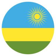 Emoji One Wall Icon Rwanda Flag