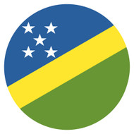 Emoji One Wall Icon The Solomon Islands Flag