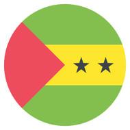 Emoji One Wall Icon São Tomé and Príncipe Flag