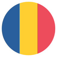 Emoji One Wall Icon Chad Flag