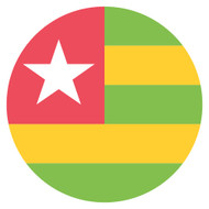 Emoji One Wall Icon Togo Flag