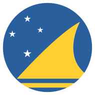Emoji One Wall Icon Tokelau Flag