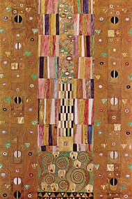 Frieze by Gustav Klimt