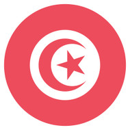 Emoji One Wall Icon Tunisia Flag