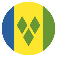 Emoji One Wall Icon Saint Vincent And The Grenadines Flag