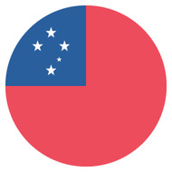 Emoji One Wall Icon Samoa Flag