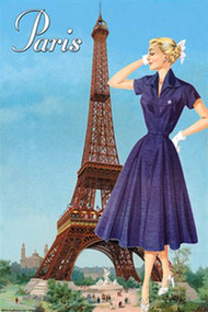 Paris Fashion Blue