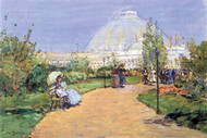 House of Gardens, World's Columbian Exposition, Chicago by Hassam