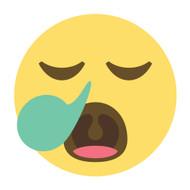 Emoji One Wall Icon Sleepy Face